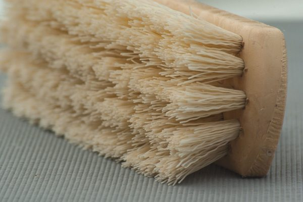 cleaning home brush