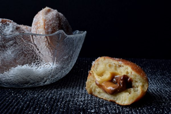 donuts recipe moody food photography
