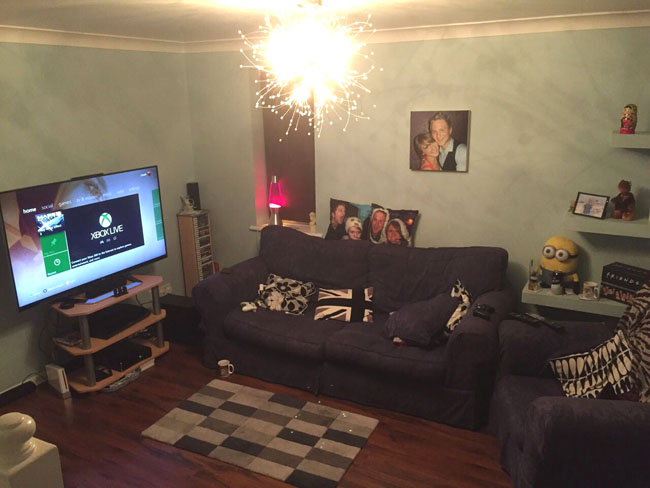 lounge before makeover photo