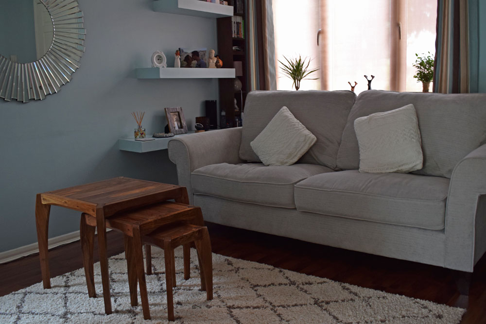 lounge makeover before and after