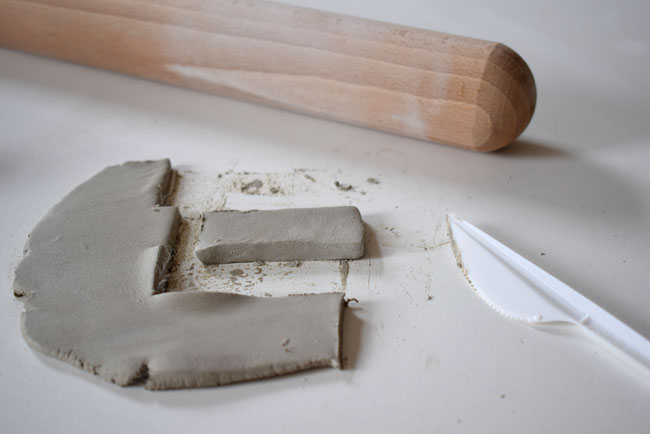 slice diy clay and mould