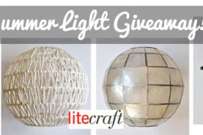 Win a Lamp via this Summer Light Giveaway