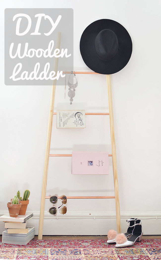wooden ladder home decoration ideas diy