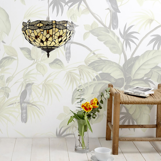Tiffany light brazilian vibrant theme home style