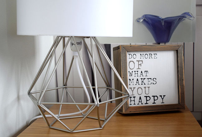 bed side lamp light and box quote