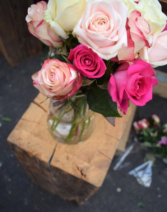 flower arrangement in a vase home decor ideas