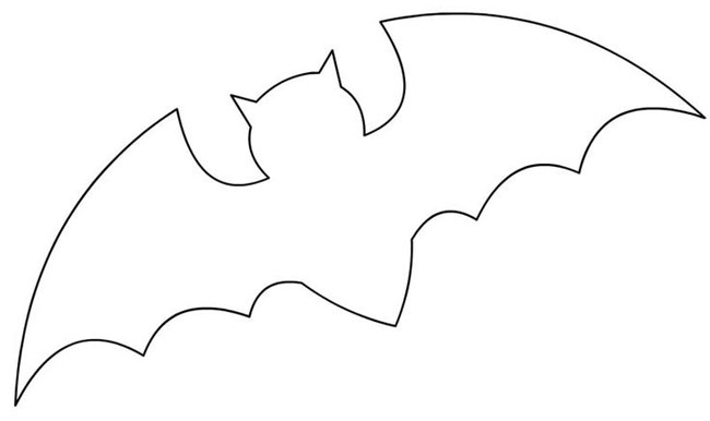 flying-bat-stencil-for-halloween-crafts