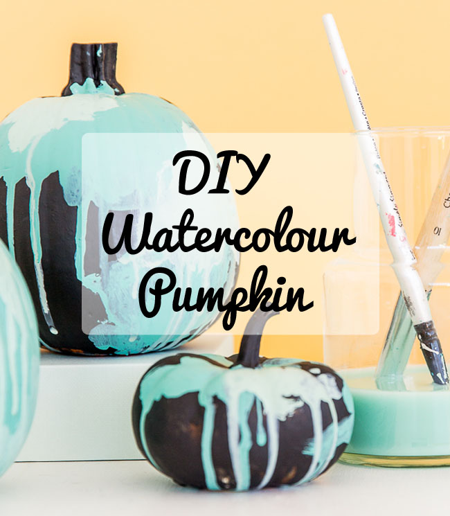 painted-pumpkin-with-watercolours-fun-crafts