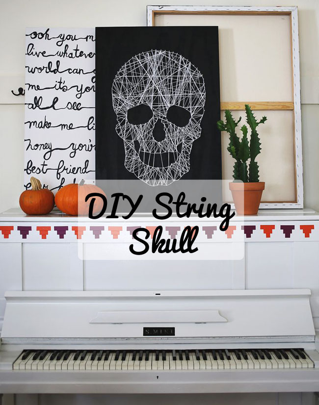 skull-string-diy-craft-idea-for-halloween-scary