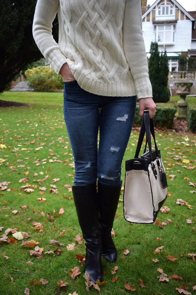 knitted-jumper-ripped-jeans-knee-high-boots