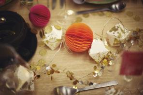 Colourful Christmas Dinner Table Ideas